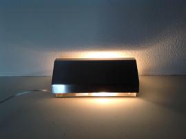 Bed- leeslampje. RVS. Retro.