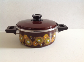Emaille pan. 70's.