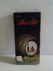Barset. 70's. Rosewood / RVS.