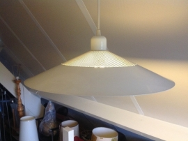 Hanglamp. Wit. Retro.