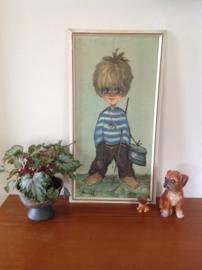 Wanddecoratie. Jongetje uit St. Tropez. Jaren 60/70.