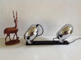 Chromen wandspots. Herda.