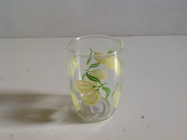 Glazen. 70-er jaren.  Limoenen.