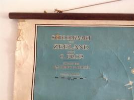 Erg oude schoolplaat.  Zeeland. 1927.