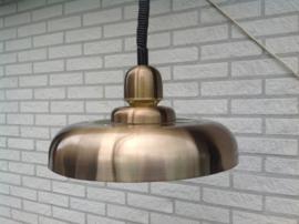 Hanglamp. Jaren 70. Bronskleurig.