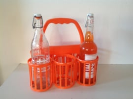 Flessenrek / drager. Oranje.