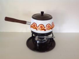 Emaille fondue set. Brabantia.