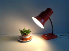 Bureaulamp. Oranje.