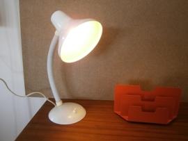 Bureaulamp. Wit.