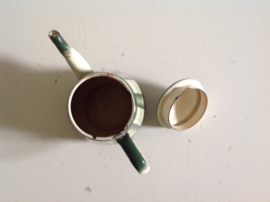 Koffie- / theepot. Emaille.