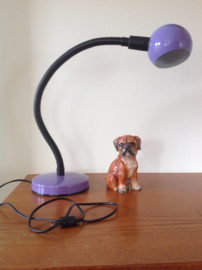 Bureau-/tafellamp. 70's. Merk: Veneti Lumi