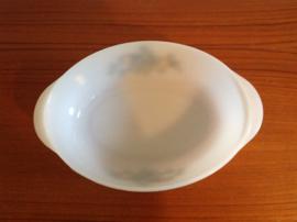 Arcopal. Ovale schaal. 26 cm.