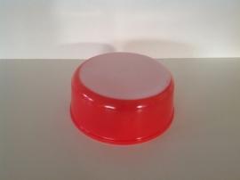 Arcopal. Pastel rood. Schaal rond.