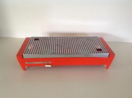 Rechaud. Merk: Brabantia. Oranje. 70's.