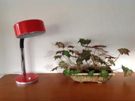 Design bureau-/tafellamp. 70's.
