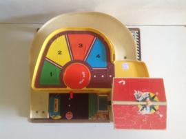 Speelgoed garage, 70's. Fisher Price Toys