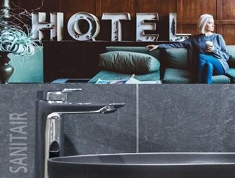 Sanitair & Hotelkamer inrichting