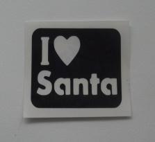 Kerst love Santa