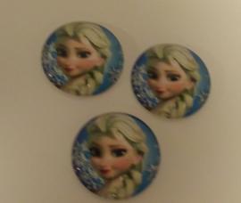 Elsa rond groot 3 cm  (per stuk)