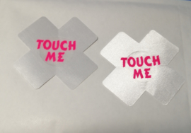 Tepelbedekker Touch Me  1 paar  (7 x 7 cm)