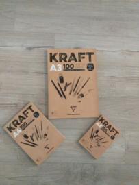 Kraft Papier Blok A5formaat