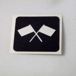 Dubbel vlag