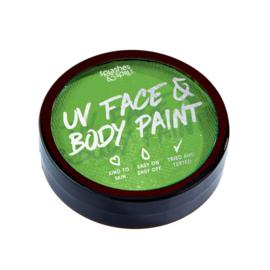 UV Green  18 gram Splashes & Spils