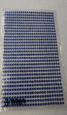 Donker Blauw steentjes 3 mm vel