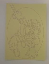 Spiderman -04  afmeting (12,5 x 17,5 cm)