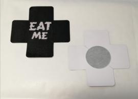 Tepelbedekker Eat Me 1 paar  (7 x 7 cm)