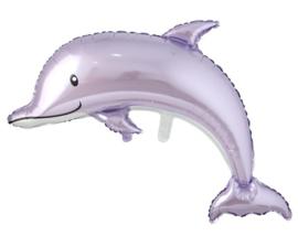 Dolfijn Paars 83 x 116 cm