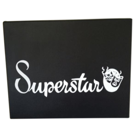 Schmink Snapcase zwart superstar 24 potjes 16 gram