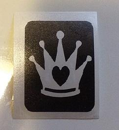 Kroon met hartje
