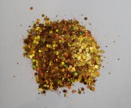 Chunky Glitters Gold 10 ML Eigen merk