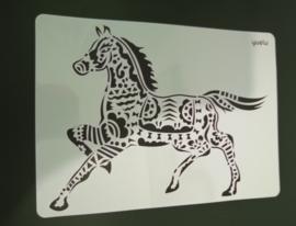 Paard schmink/Airbrush sjabloon XXL   21 x 29 cm