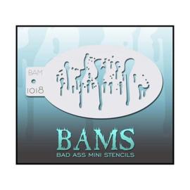 BAM 1018 Schmink Stencil