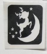 Hert met maan