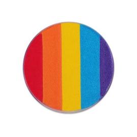 Facepaint Dream Color Rainbow (45gr) met gratis vlinderspons