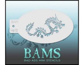 BAM-Stencil 1412 Dragon