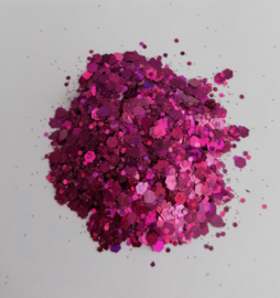 Chunky Glitters Roze 10 ML Eigen merk
