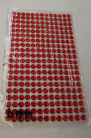 Rood steentjes 6 mm vel