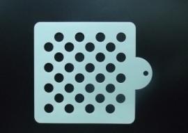 Schmink & Airbrush sjabloon rondjes