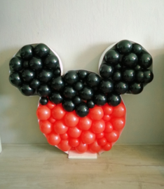 Mickey of Mini Mouse Ballondecoratie Groot 120 x 104 cm