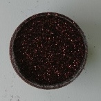 Glitters cosmetisch donker bruin 10 ml