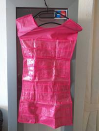 Sjablonen presentatie Jurk roze 70 cm lengte