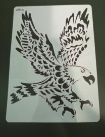 Arend schmink/Airbrush sjabloon XXL   21 x 29 cm