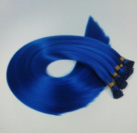 Feather Extention donker blauw