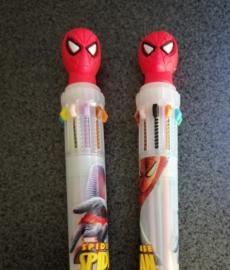 Spiderman meer kleuren pen