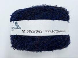 Border Wollie bouclette Donkerblauw