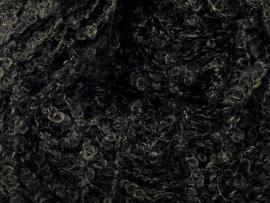 Border Wollie bouclette zwart